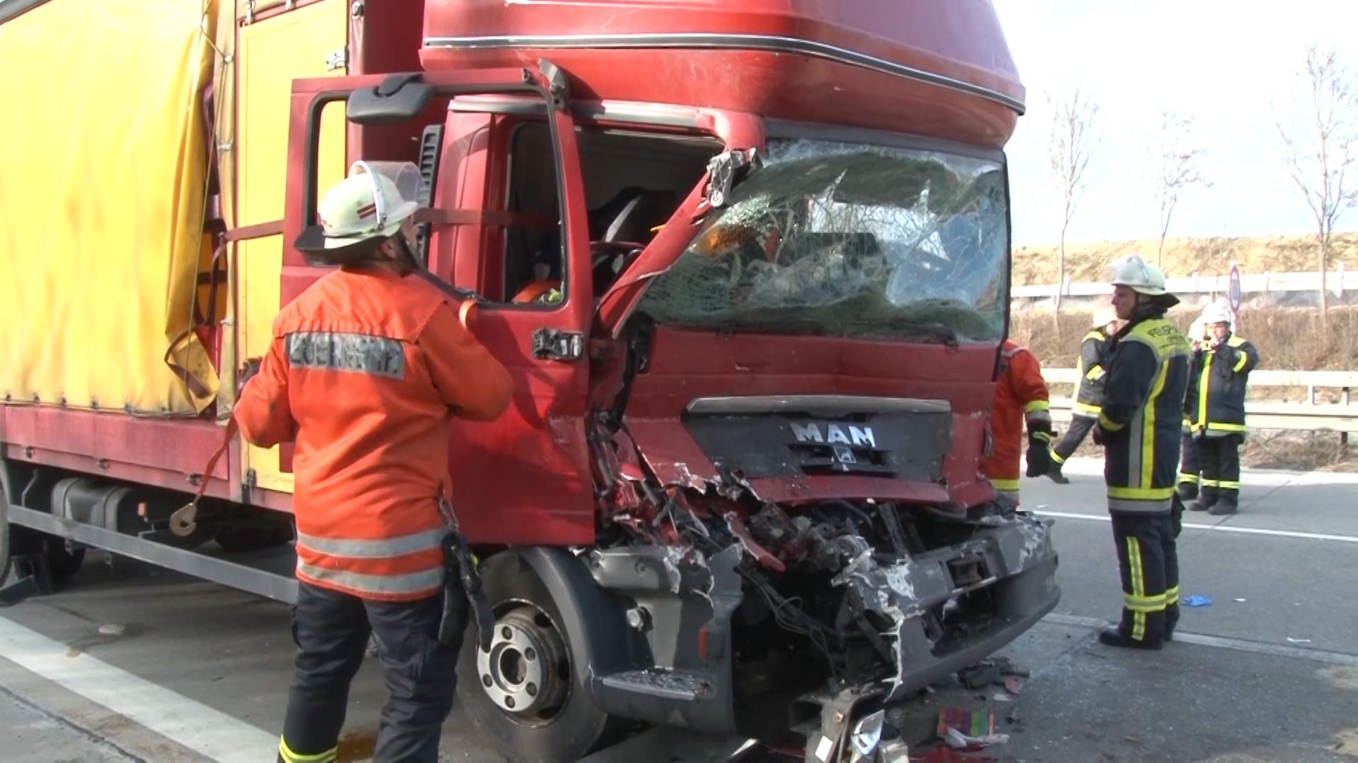 A8 Lkw Unfall