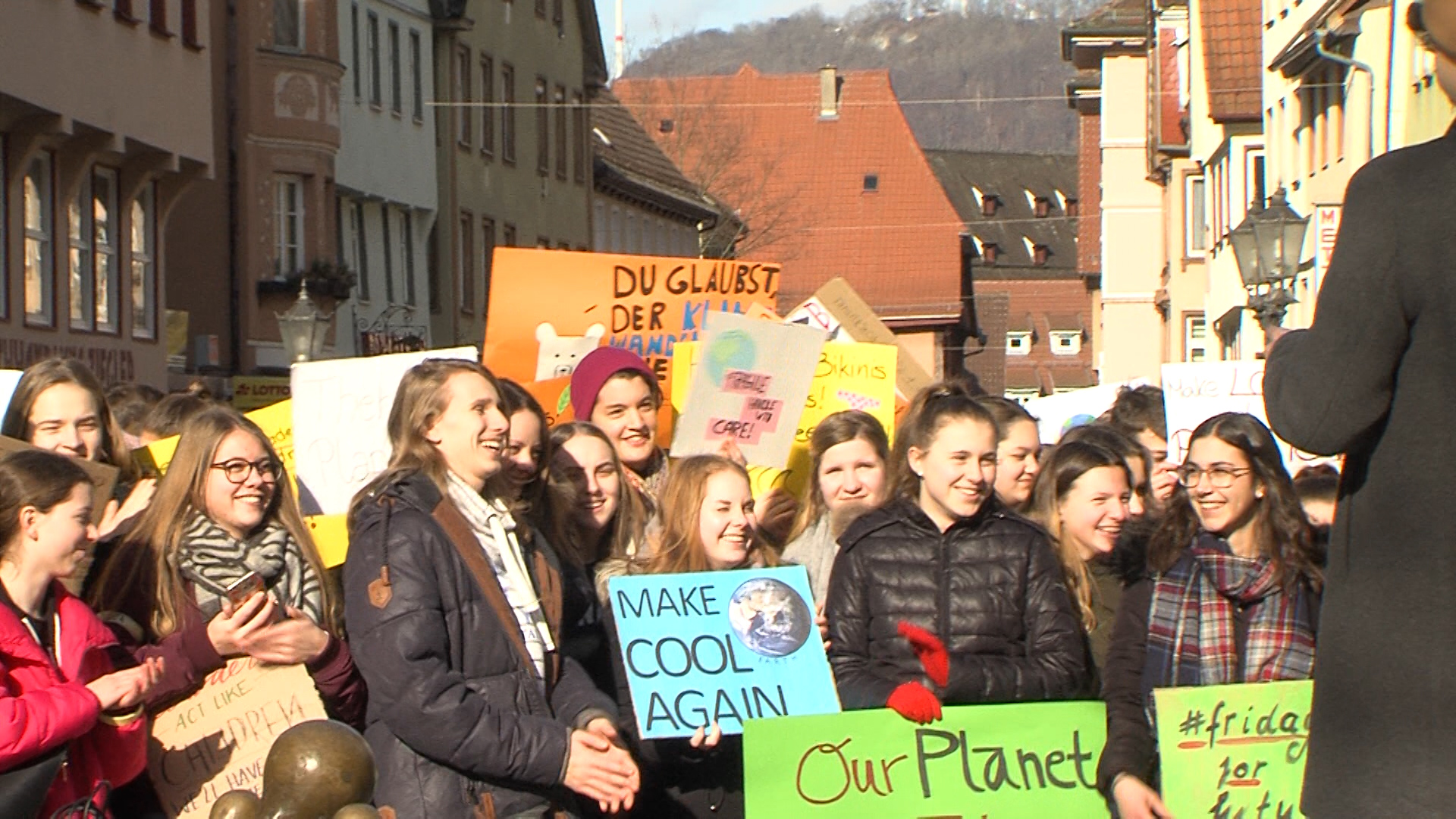 """Fridays For Future Photo: """"Fridays For Future"""" In Geislingen"""